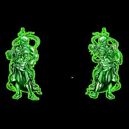 【伝】守護神【緑】