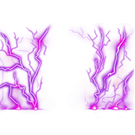 【伝】雷【紫】