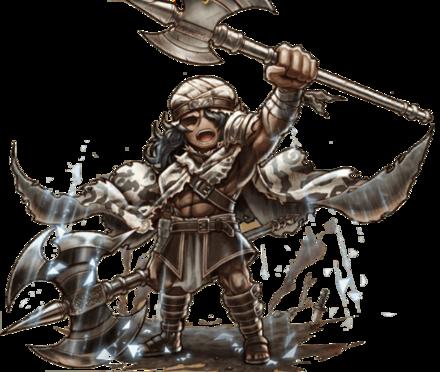 ブラキアの戦士グルガの画像
