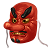 天狗の仮面画像