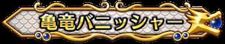 亀竜バニッシャー