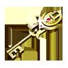 金の鍵の画像