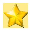 幸運の星の画像