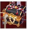 金嵌め飾り物の箱の画像