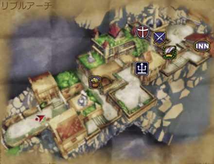 リブルアーチのマップ画像