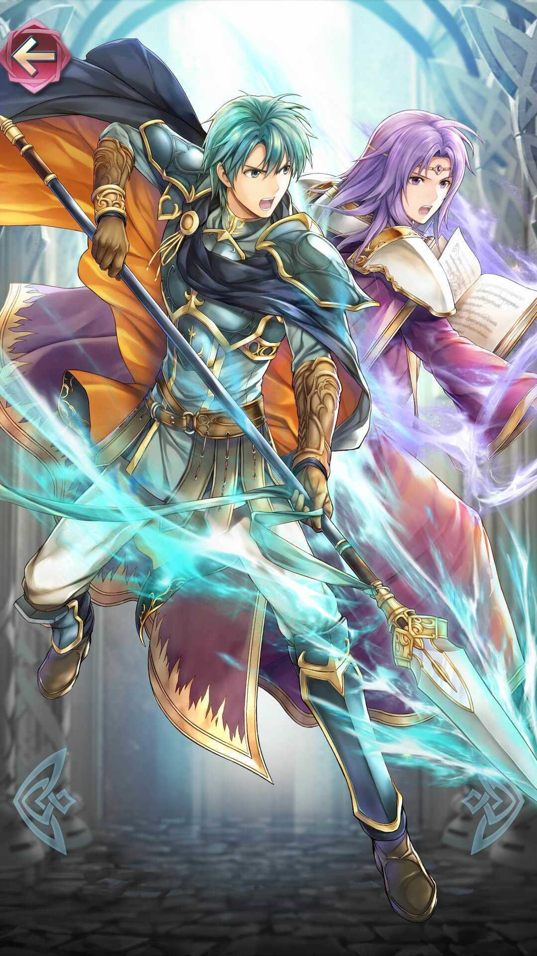 エフラム(比翼の王子と皇子)の立ち絵