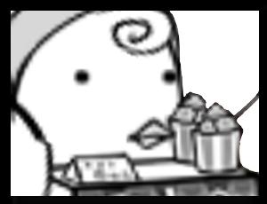 売り子エルの画像