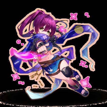 紫燐の暗殺者 アヤメ
