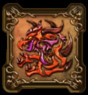 炎の厄災の紋章・盾