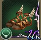 エルメスの靴の画像