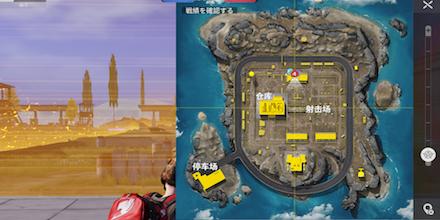 金銀の戦場マップ