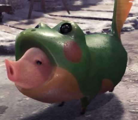 アイスボーン プーギー カエルのマーチ