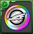 シンカリオンメダル【虹】の画像