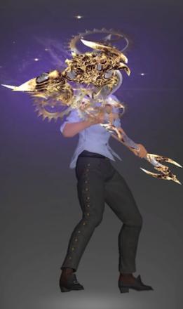 絶アレキの戦士武器