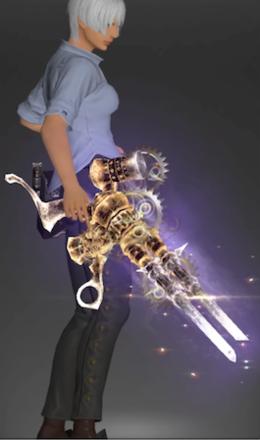 絶アレキの機工武器