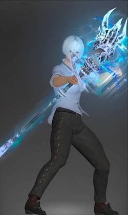 絶アルテマの黒魔道士武器