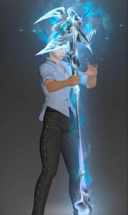 絶アルテマの白魔道士武器