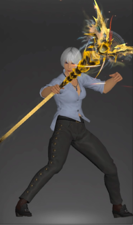 絶バハの黒魔道士武器