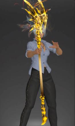 絶バハの白魔道士武器