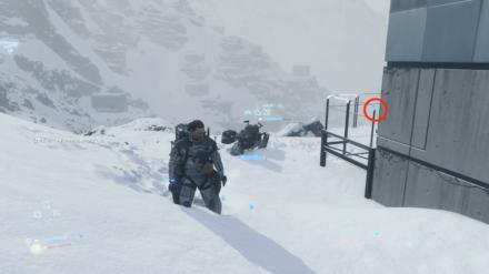 雪の結晶の周辺画像