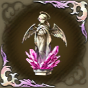 祈る天使像・緋の画像