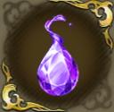 水の輝石・紫の画像