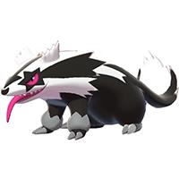 Pokemon Sword and Shield - Galarian Linoone