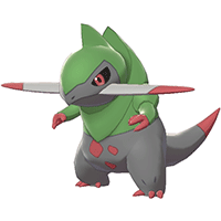 Pokemon Sword and Shield - Fraxure