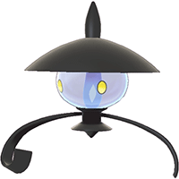 Pokemon Sword and Shield - Lampent