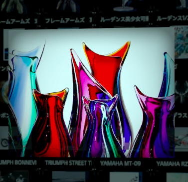 ガラス工芸品