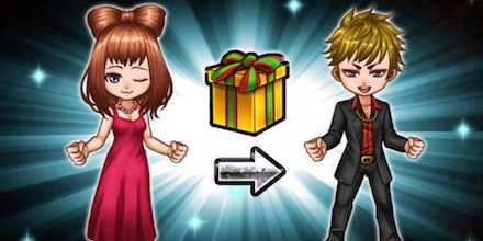 プレゼント機能の画像