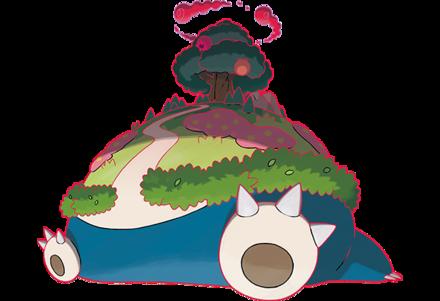 カビゴン(キョダイマックスのすがた)の画像