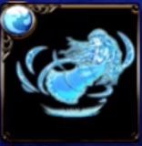【神】聖母神のオーラ・水のアイコン