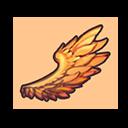 鮮やかな翼の画像