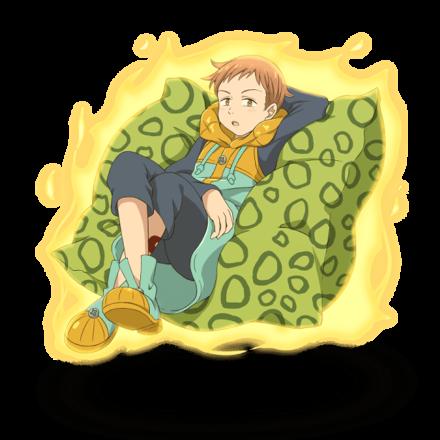 〈怠惰の罪〉 キングの画像