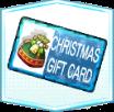 カード【クリスマスギフト】の画像