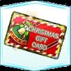 カード【クリスマスギフト(金)】の画像