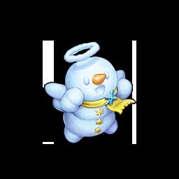 聖なるスノウマンの画像