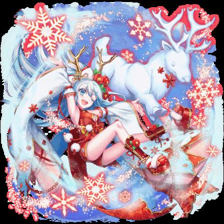 [銀雪の馴鹿]六華の画像