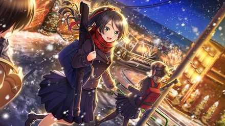 塚原雫【剣友と見た雪景色】の画像