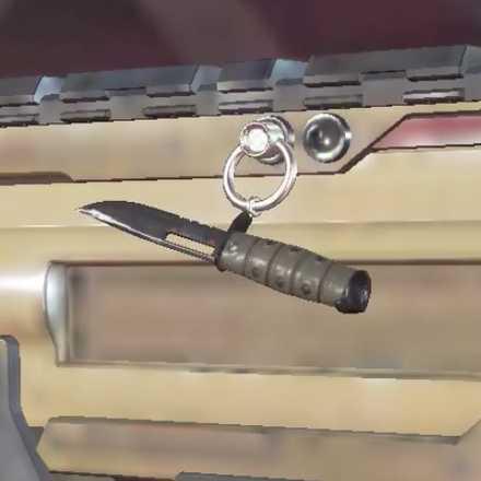 ハンターのナイフの画像
