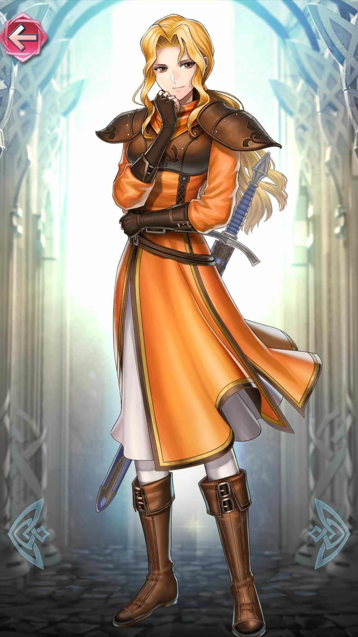 エーヴェル(フィアナの女神)の立ち絵
