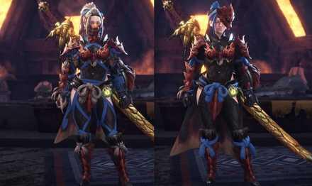 Odogaron Layered Armor