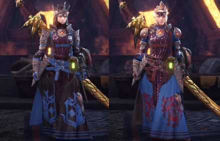 Zora Gamma Layered Armor