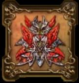 魔星神イライザの紋章・頭