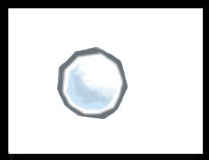 雪玉の画像