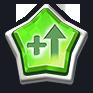 緑玉レベルアップ画像
