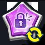 ロック紫玉変換画像