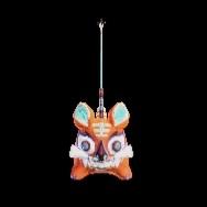 万福の虎・橙の画像
