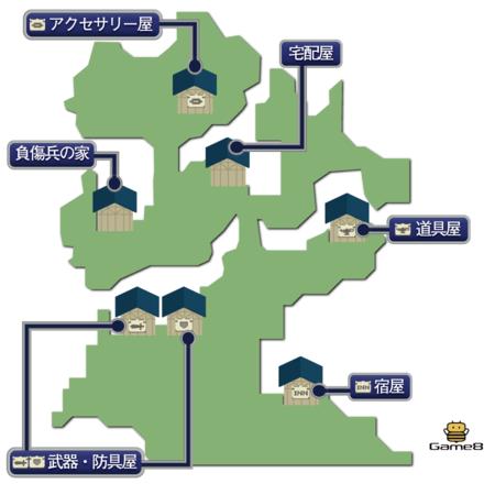 モブリズのマップ